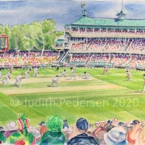 Members Pavilion, Newlands, 2nd Test, Day5, 2020