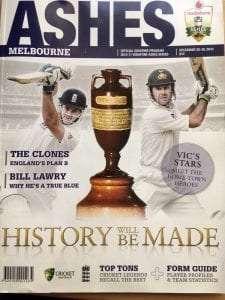 The Ashes Programme Magazine